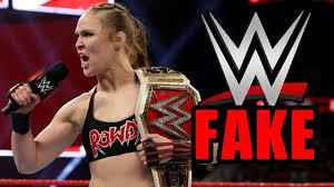 Ronda Rousey dice che il wrestling è FINTO - YouTube