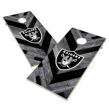 Victory Las Vegas Raiders 2 X 4 Solid Wood Cornhole Boards Dick S Sporting Goods
