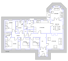 dormer bungalow ireland drawing house