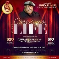 Abundant Life Center COGIC presents Christmas at the Life on Dec 9, 2016 at  7pm ft: John P. Kee & New Life Community Choir, Voice of AL… | Vip tickets,  Cogic, Choir