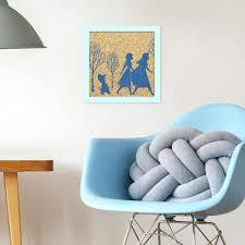 Amazon Com Roommates Disney Frozen 2 Sisterly Love Cork Art Kids Room Decor Home Improvement