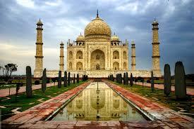 beautiful taj mahal india high
