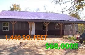 1 440 sq feet metal pole barn