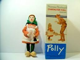VINTAGE NORMAN ROCKWELL CHARACTER DOLL POLLY WEST GERMANY | eBay