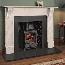 fire surround in carrara marble
