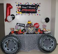Mickey And The Roadster Racers 1st Birthday Party Fiesta De