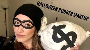 robber makeup black mask