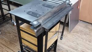 metal brake for bending sheet metal