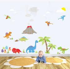 Dinosaur Decal Dino Wall Stickers Toddler Boys Room Decor Etsy