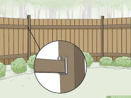 Simple Ways To Build Fence Panels 12 Steps With Pictures