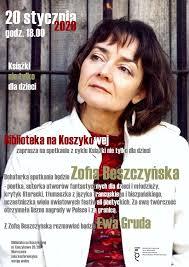 Spotkanie z Zofią Beszczyńską – Wydawca