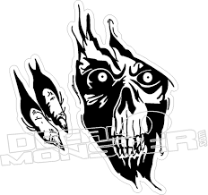 Grim Reaper Rip Decal Decal Max