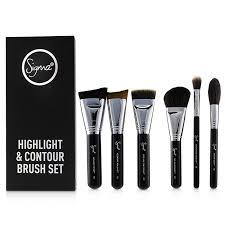 highlight and contour brush set