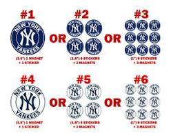 New York Yankees Decal Magnet Car Fridge Ny Pc Sport Magnets Ps Free Stickers Ebay