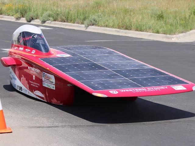 Resultado de imagen de solar car