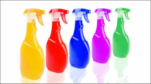 label homemade household cleaners