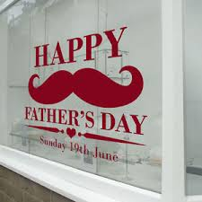 Happy Father S Day Sign Retail Shop Window Display Vinyl Wall Sticker Decal A348 Ebay