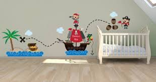 Her Pirate World Pack Custom Wall Stickers Dezign With A Z