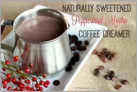 homemade coffee creamer a naturally
