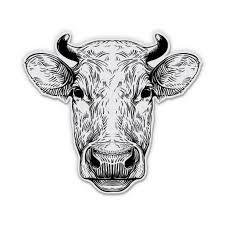 Cow Farm Farmer Moo 5 Vinyl Sticker For Car Laptop I Pad Waterproof Decal Walmart Com Walmart Com