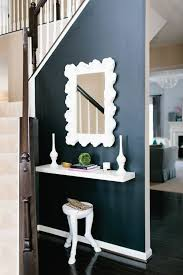 floating console table contemporary