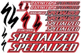 Amazon Com Specialized Decals Stickers Bicycle Frame Replacement Graphic Set 2 Sports Outdoors