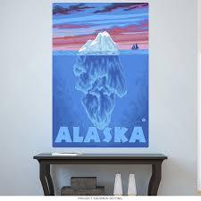 Alaska Iceberg Under Water Wall Decal At Retro Planet