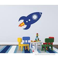 Spaceship Wall Decal Nursery Decal Boys Room Decal Girls Room Decal B01ft58764
