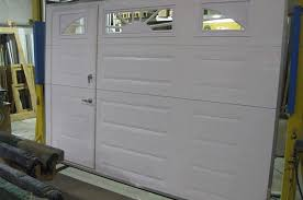 walkthru garage doors