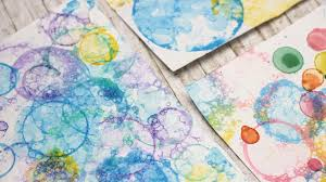 DIY: Soap Bubble Art | Personalize your Notebooks! - Makoccino