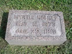 Myrtle Holmes Seaton (1873-1910) - Find A Grave Memorial