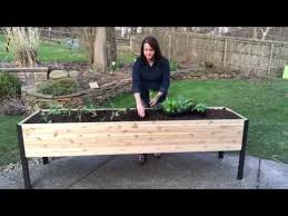 elevated raised bed gardening the
