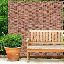 Fence Panels 6ft Woven Willow Hurdle Fence Panel Garden Fencing Natural Screening 3 Heights Garden Patio Tallergrafico Com Uy