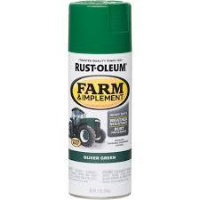 Rust Oleum 12 Oz Oliver Green Farm Implement Spray Paint Jackson S Do It Best Hardware