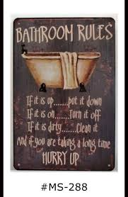 funny metal toilet bathroom retro