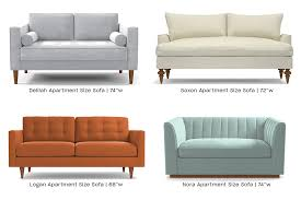 apartment size sofa vs regular size
