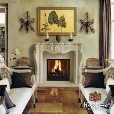 cau louis fireplace mantel