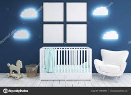 Kids Room With Armchair And Posters Stock Photo C Denisismagilov 140673190