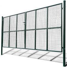 Mesh Garden Gate Fence Panels Patio Barricade Rail Green Steel Terrace Barrier 481 00end Date Dec 10 Ebay Sales Ho Garden Mesh Garden Gates Fence Panels