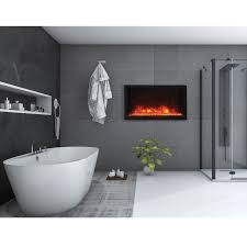 wall mounted natural gas fireplace