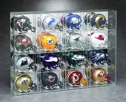 mini helmet acrylic display case