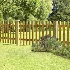 1 2m High Palisade Fence Panel Amazon Co Uk Garden Outdoors
