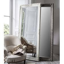 antique silver mirror 190 x 81cm