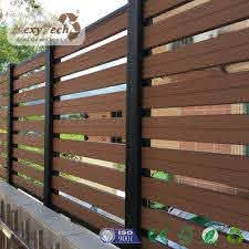 China Foshan Manufacture Garden Fence Wpc Composite Board China Garden Fence And Composite Fencing Price