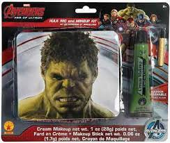 hulk wig makeup kit avengers 2 marvel