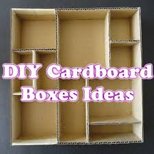 diy cardboard boxes ideas for android