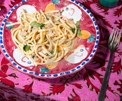 Scialatielli pasta with seafood mix ...