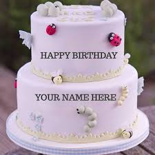 birthday cake wallpaper with name edit