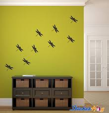Dragonfly Vinyl Wall Decals For Home Decor