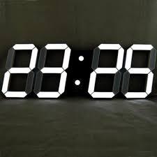 oversize led digital wall clock large